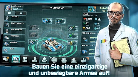 Art of War 3: RTS Echtzeit Militär Strategiespiele Screenshot