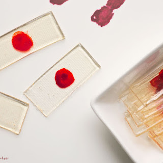 "Candy ""Bloody"" Slides - Halloween Treats."
