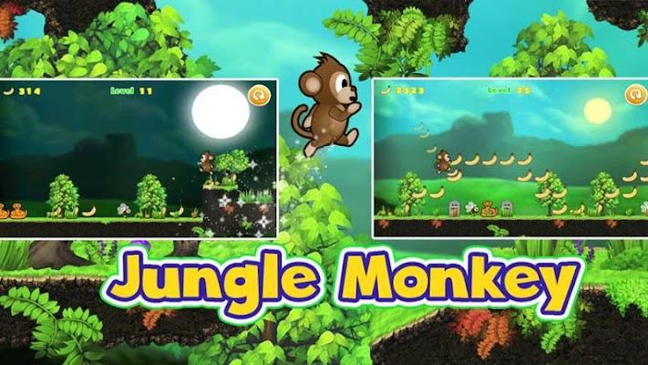Jungle Monkey Jump - screenshot