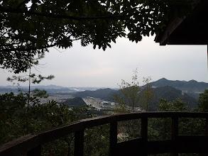 展望所からの眺め(右に誕生山・天王山なじ)
