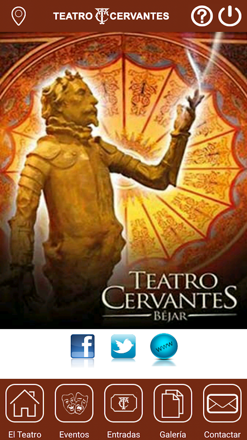 Teatro Cervantes Béjar- screenshot