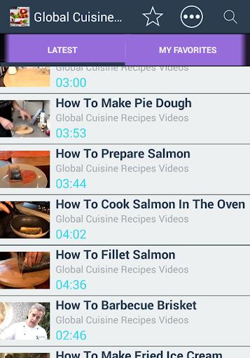 玩免費媒體與影片APP|下載全球食譜視頻HD Pack 3的 app不用錢|硬是要APP