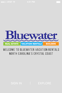 Bluewater Vacation Rentals- screenshot thumbnail