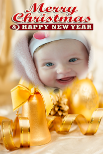 2018 New Year Christmas Photo Frame - náhled