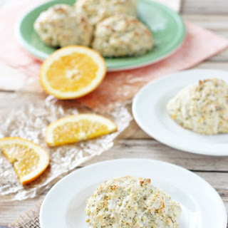Orange Poppy Seed Scones