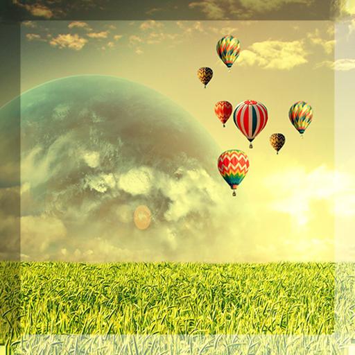 熱気球ライブ壁紙 個人化 App LOGO-硬是要APP
