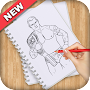 How to Draw WWE APK icon