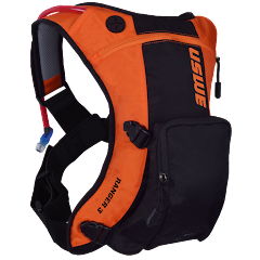 Ranger™ 3L Bounce Free Off-road Backpack With On/Off Organizer Pocket, Orange-Black