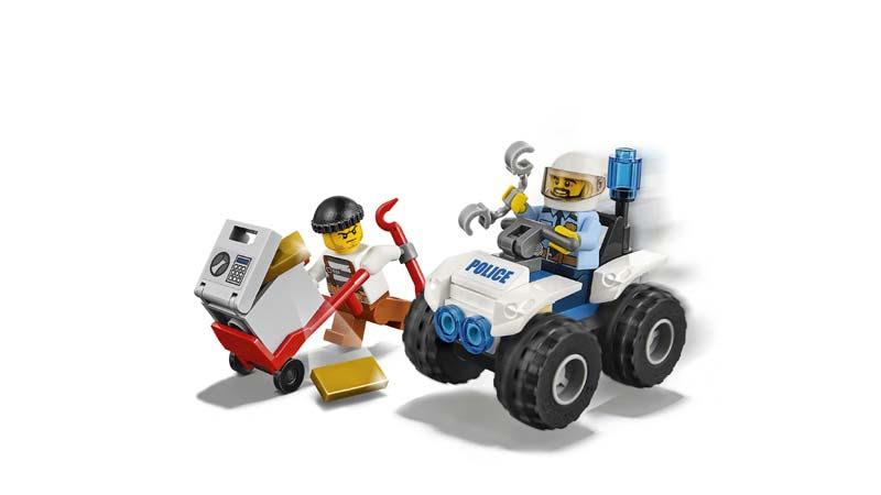 Contenido de Lego® 60135 Quad de Arresto