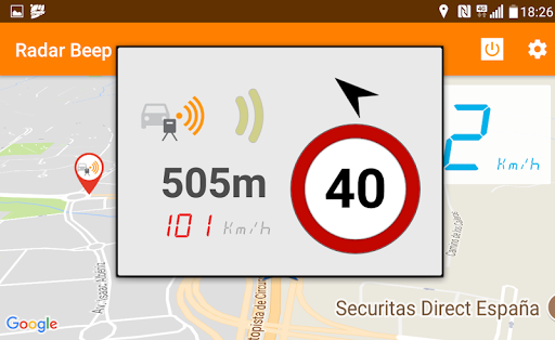 Radar Beep - Radar Detector 2.0.5.5 Screenshots 3