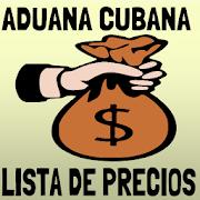 Aduana de cuba lista de precios