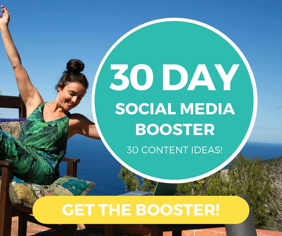 30 DAY SOCIAL MEDIA BOOSTER