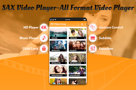 SAX Video Player – All Format HD Video Player 2020 2