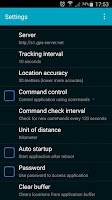 Screenshot of GPS Tracker Hidden