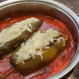 Chiles Rellenos en Salsa.