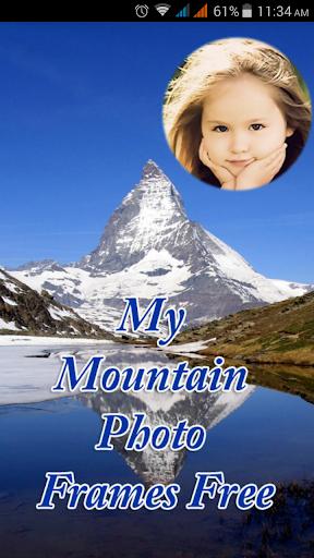 My Mountain Photo Frames Free