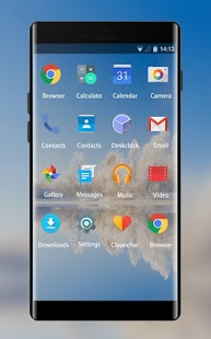 OxygenOS launcher Theme for OnePlus 3 Wallpaper - náhled