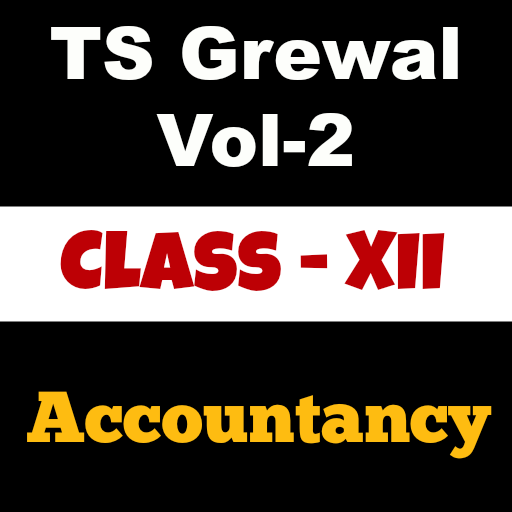 Account Class-12 Solutions (TS Grewal Vol-2)