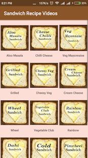 Sandwich Recipe Videos - náhled