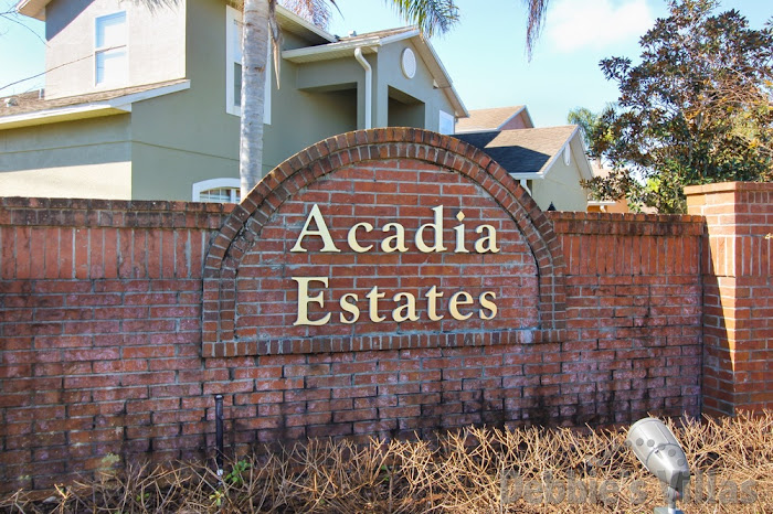 Entrance to Acadia Estates