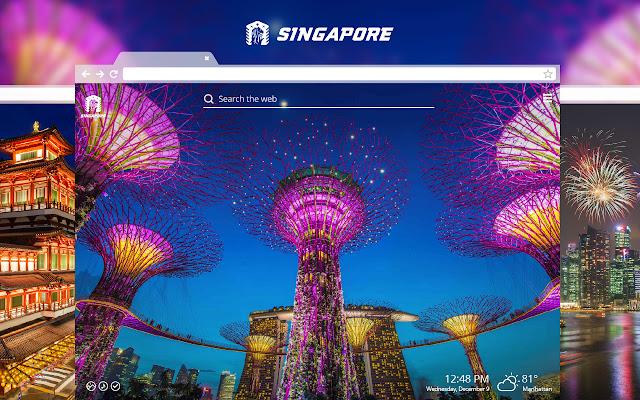 Singapore HD Wallpapers New Tab Theme