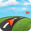 GPS Navigation: Traffic Route Finder, Map Location icon