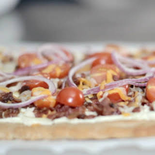 Spicy Jalapeño & Bacon Flatbread.