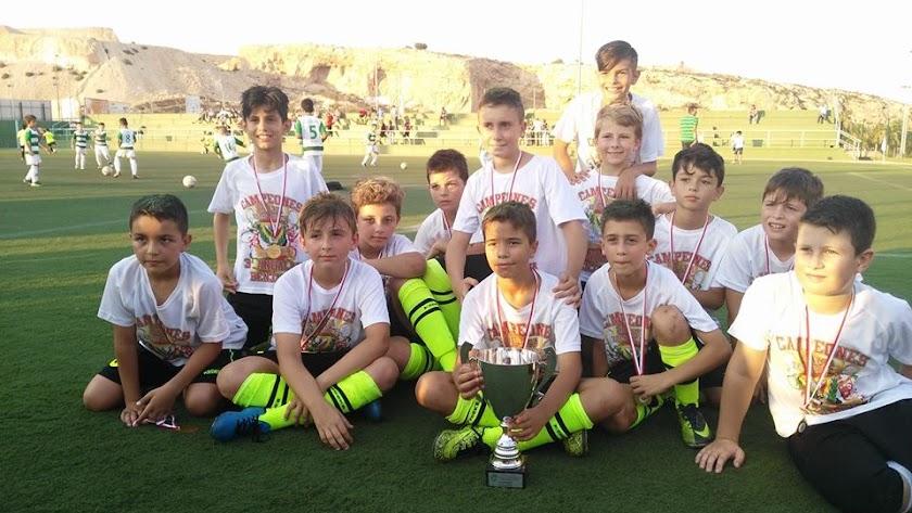 El Pavía, mejor equipo de 3ª Andaluza Benjamín
