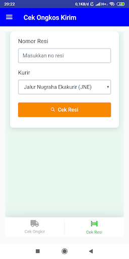 Cek Ongkir dan Cek Resi JNE, J&T, Pos (All ) 3.0 screenshots 3
