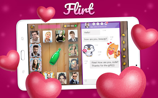Kiss me: Spin the Bottle, Online Dating and Chat apkpoly screenshots 10