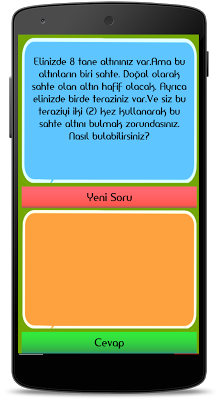 Logic, intelligence Questions - screenshot