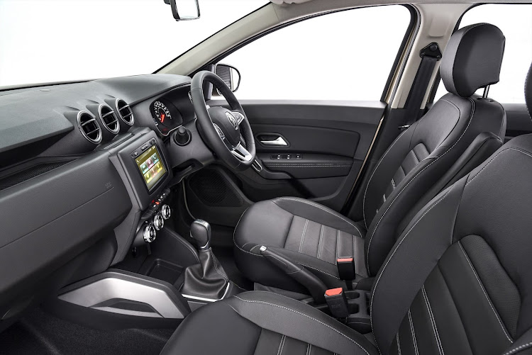 Leather seats are a R10,088 option