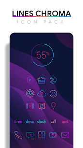 Lines Chroma – Icon Pack 1