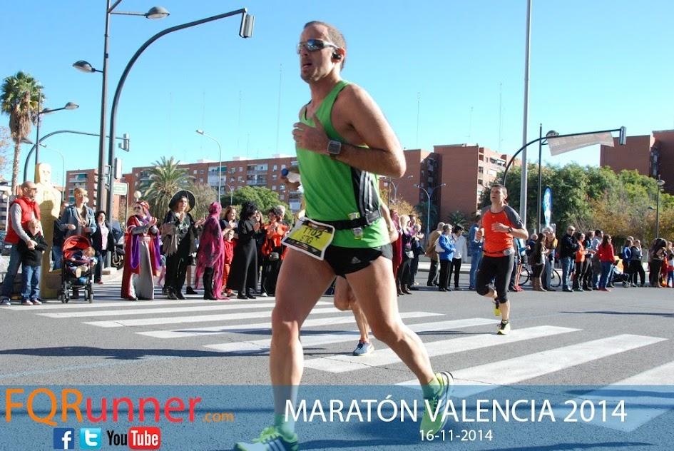 Fotos de la maratón de Valencia 2014