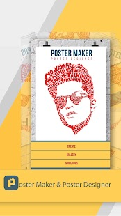 Poster Maker & Poster Designer Screenshot