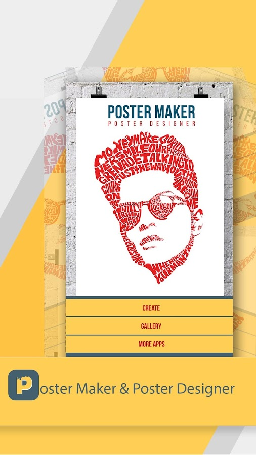 Poster Maker & Poster Designer- screenshot