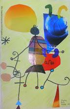 Photo: Collage Miró- Marina Ruiz 6º C