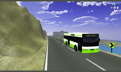 玩免費賽車遊戲APP|下載Bus Simulator - Dangerous road app不用錢|硬是要APP