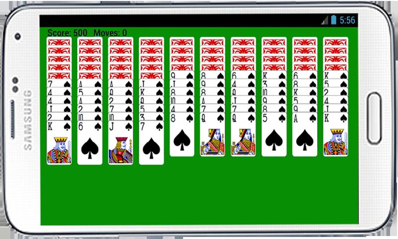 spider solitaire 4 deck