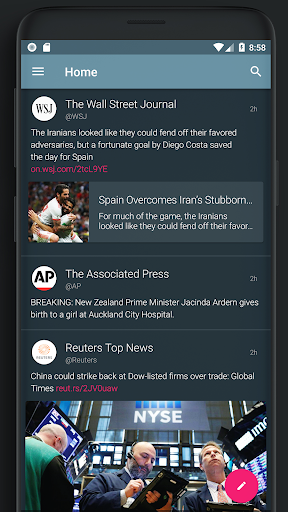 Screenshot for Abi for Twitter in Hong Kong Play Store