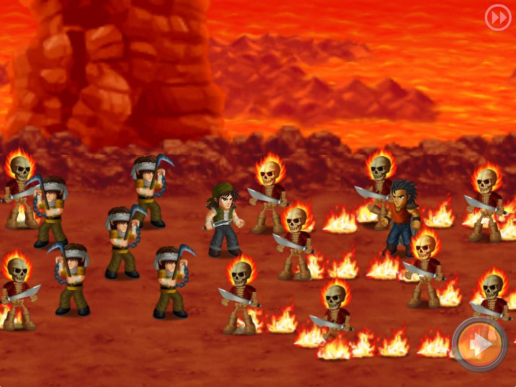 Hero Fighter X- screenshot