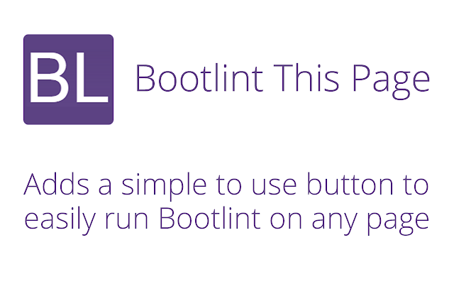 Bootlint This Page