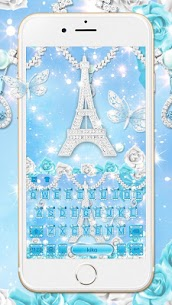 Lux Butterfly Tower diamond Keyboard – Lux Theme 1.0 Android APK Mod 1