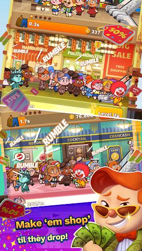 Tap Tap Plaza - Mall Tycoon screenshot 1