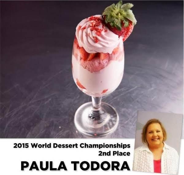 Sweet Strawberry & Sparkling Rosé Trifles