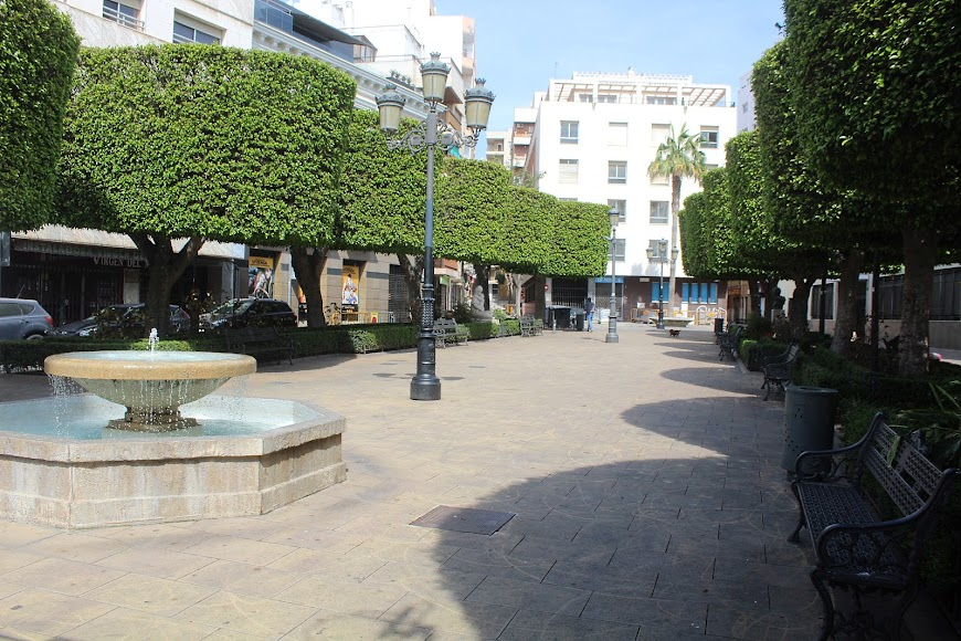 Plaza Virgen del Mar.