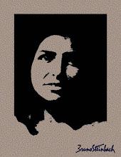 """Photo: Bruno Steinbach. """"Bruna Steinbach I"""". Infogravura, 40 x 30 cm, 2007, João Pessoa - Paraíba - Brasil."""