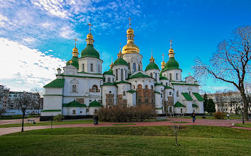 Photo: St. Sophia, Kiev ~ by Matt Shalvatis
