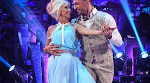 Debbie McGee is 'flattered' by claims Giovanni Pernice fancies her