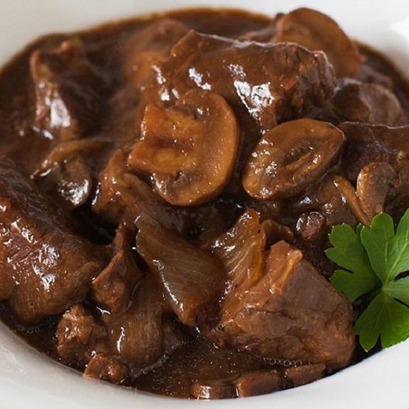 Beef Stew with Mushrooms Recipe | Yummly